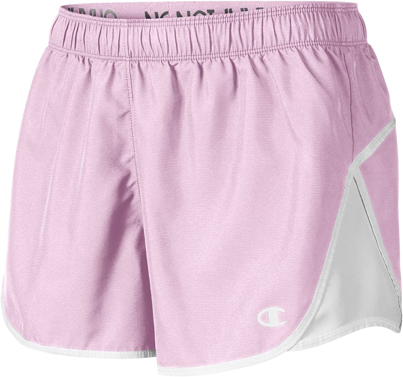Wow Pink Champion Women`s Woven Sport Short 8151 S