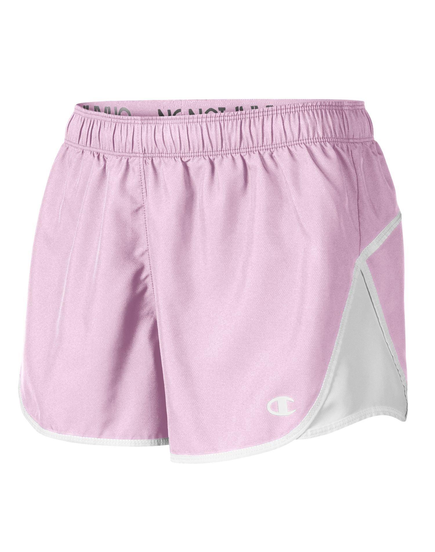 Champion Women`s Woven Sport Short, 8151, M, Wow Pink