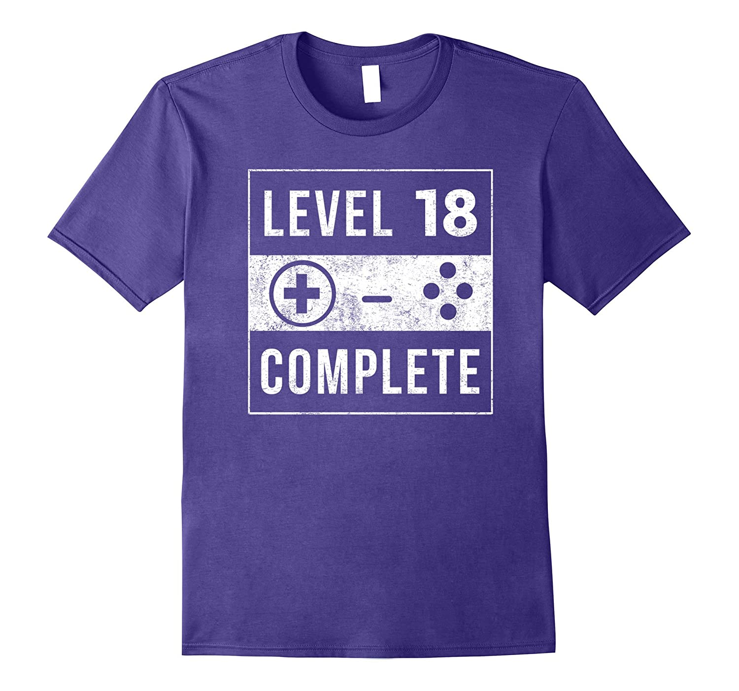 18th Birthday Gifts 18 Year Old Bday Gamer Gaming Shirt-4LVS