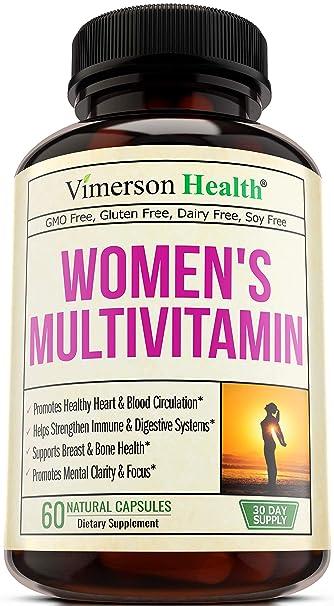 Amazon.com: Suplemento multivitamínico diario para mujer ...