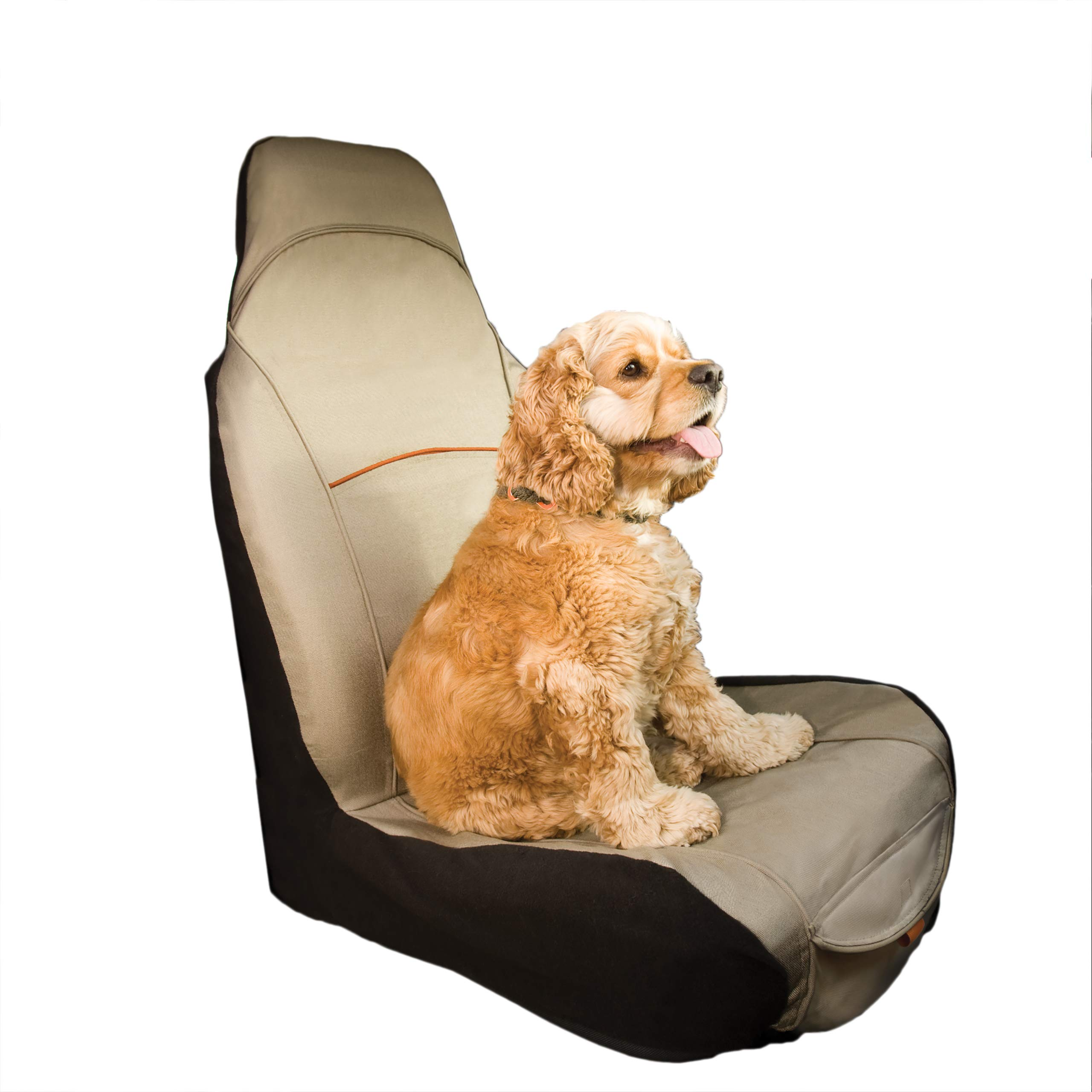 Kurgo CoPilot Bucket Seat Cover for Dogs -Waterproof, Stain Resistant & Machine Washable by Kurgo