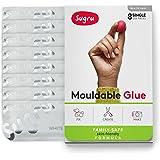 Sugru スグルー成形可能な接着剤 - 家族で安心| 肌に優しい配合白(8 パック)