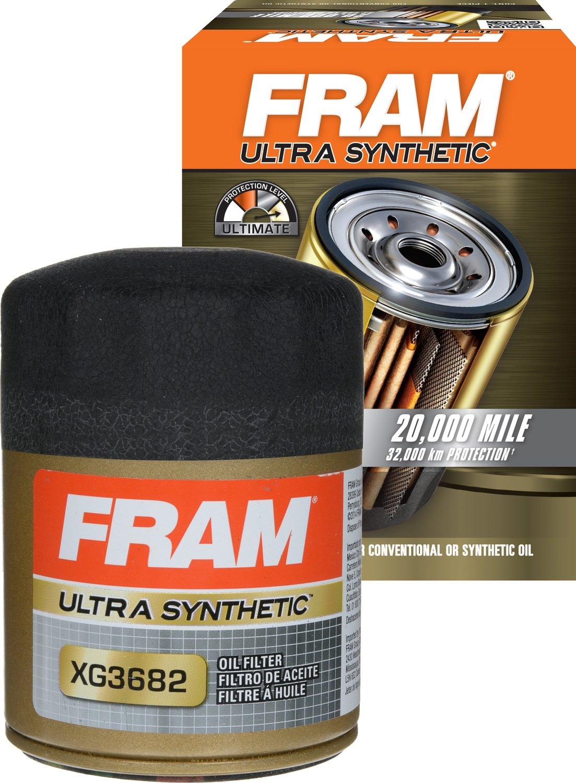 Fram PH3682 Extra Guard Passenger Car Spin-On Oil Filter, Pack of 1 Fram Filters FFPH3682