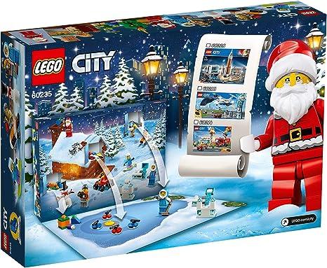 NEW LEGO CITY SANTA/'S CHRISTMAS EVE PRESENT DELIVERY TREE SANTA HUSKY SLED COOKI