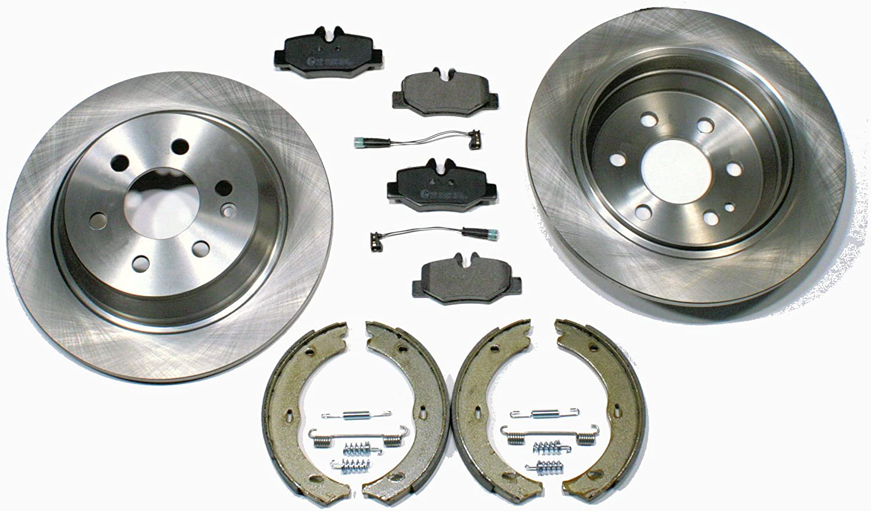 Bremsscheiben Bremsen Bremsklötze Handbremse Für Hinten Für Die Hinterachse Auto