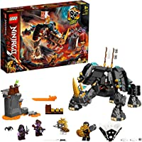 LEGO NINJAGO Zane's Mino Creature 71719 building set with dungeon and 4 minifigures, Toy for Boys and Girls 8+ years old…