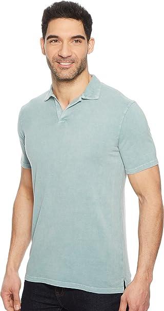 ff5cf1dc0 Mod-O-Doc Mens Pescadero Short Sleeve Johnny Collar Polo at Amazon Men's  Clothing store: