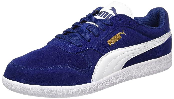 Puma Icra Trainer Erwachsene Damen Herren blau (Blue Depth) m. weißem Streifen