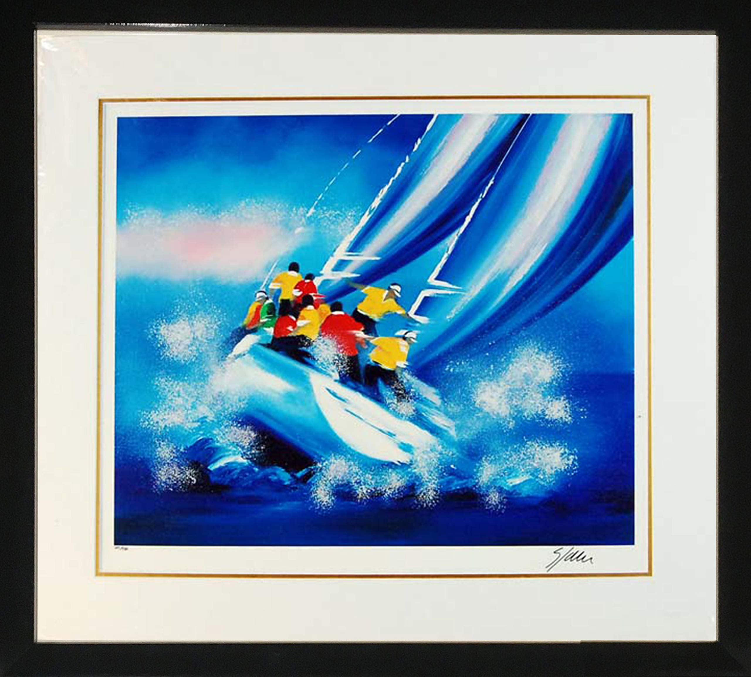 Framed Art''Fullspeed'' by Victor Spahn by