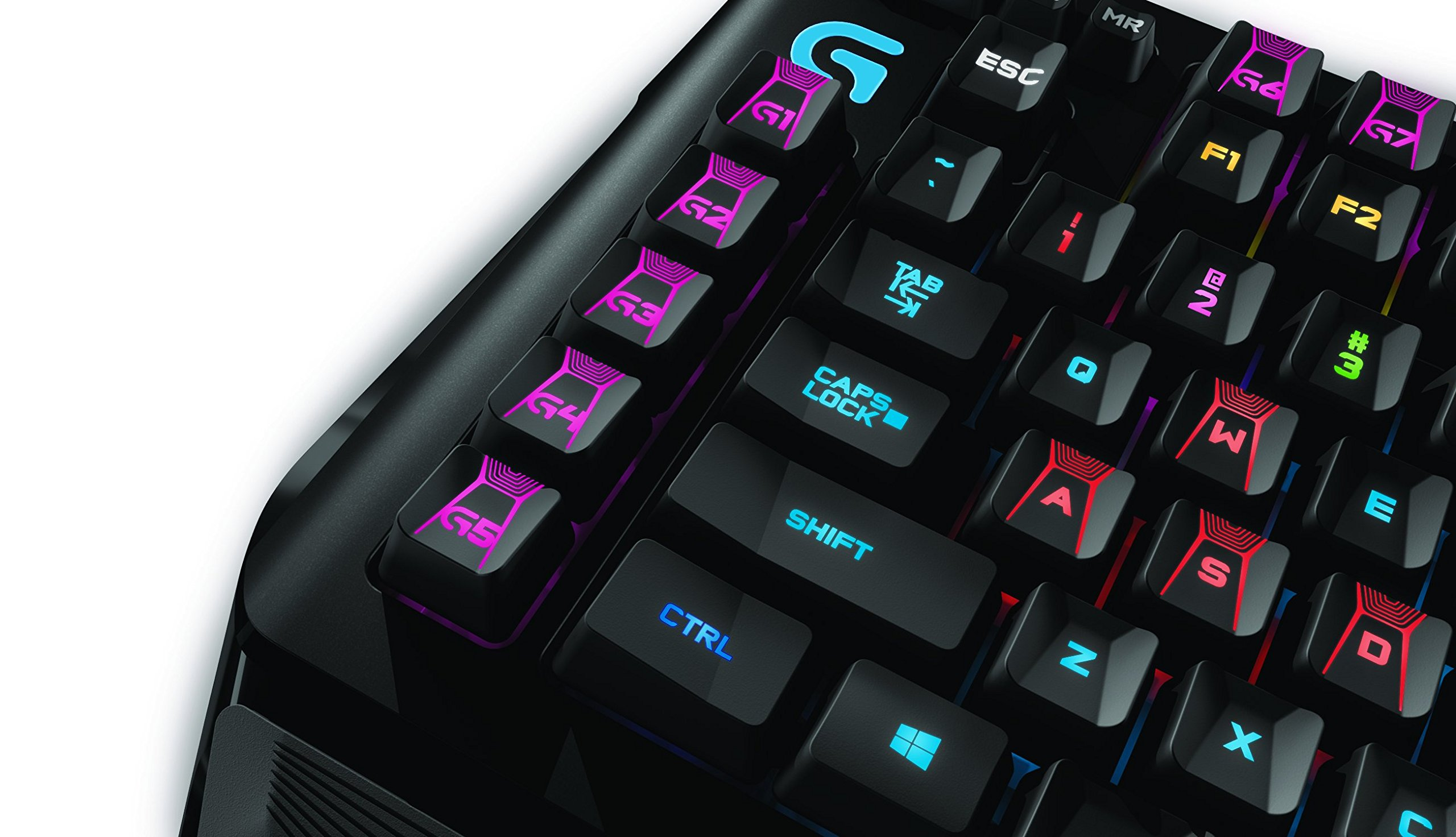 Logitech G910 Orion Spark RGB Mechanical Gaming Keyboard – 9 Programmable Buttons, Dedicated Media Controls by Logitech (Image #6)