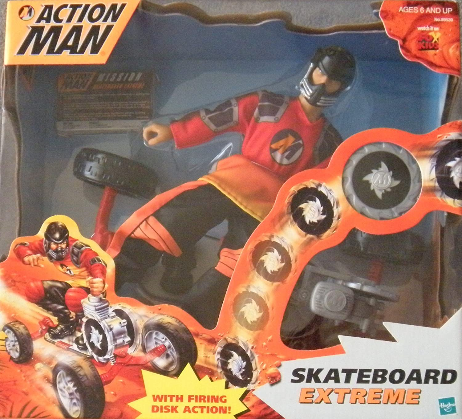 Amazon Action Man Skateboard Extreme Toys Games