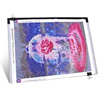 Diamond Painting A3 Dimmable Light Pad with 3 Level Brightness LED Tablet Bright Light Pad Light Box Apply to 5D Diamond…
