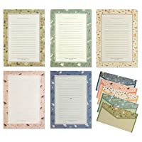 IMagicoo 48 Cute Lovely Writing Stationery Paper Letter Set with 24 Envelope/Envelope Seal Sticker (3)