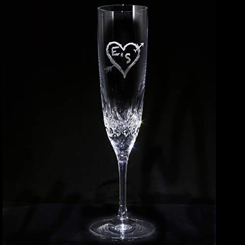 Amazon Waterford Crystal Champagne Flute Engraved Wedding Gifts