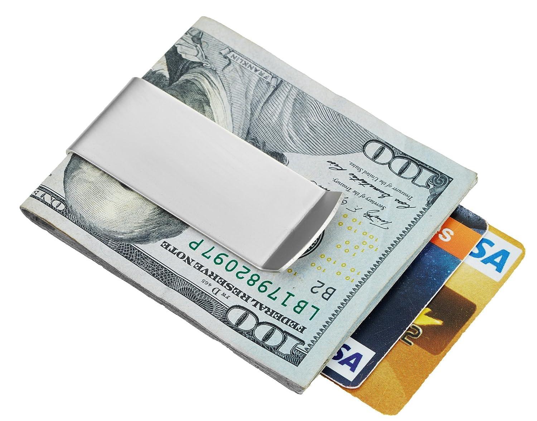 SimpacX Classic Cash Money Clip Credit Card Holder