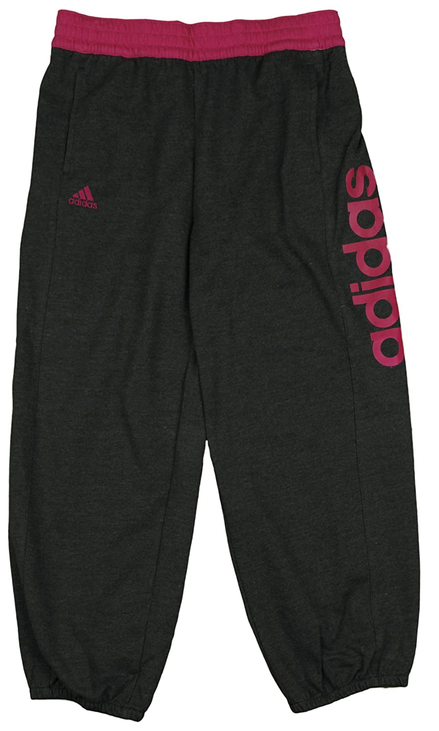 Adidas Youth Big Girls Boyfriend Fleece Capri Pants