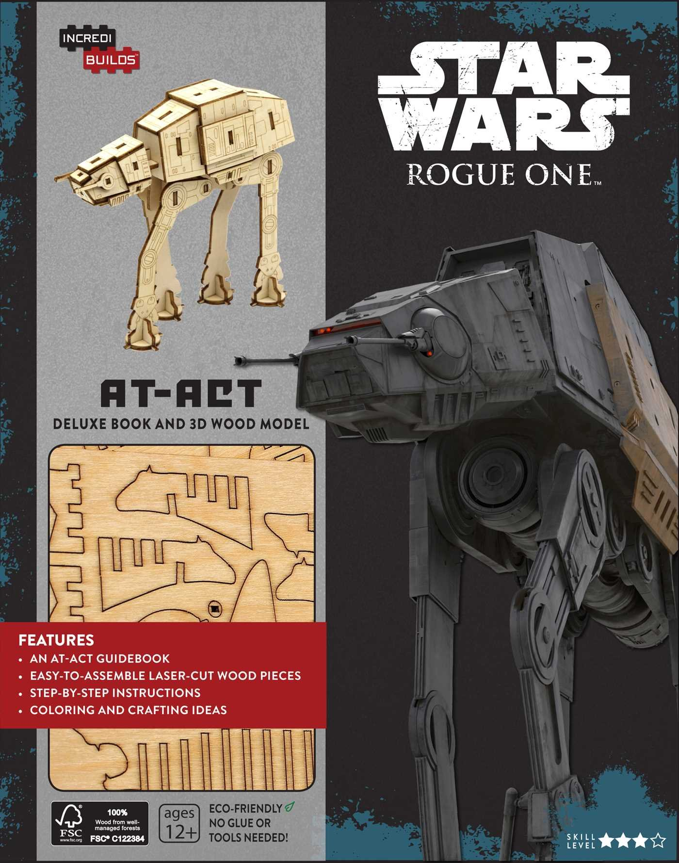 Download IncrediBuilds: Star Wars: Rogue One: AT-ACT Deluxe Book and Model Set pdf