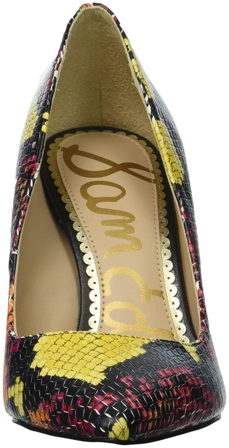 Sam Edelman Women's Hazel Pump B0773XVS55 7.5 B(M) US|Rainbow Multi