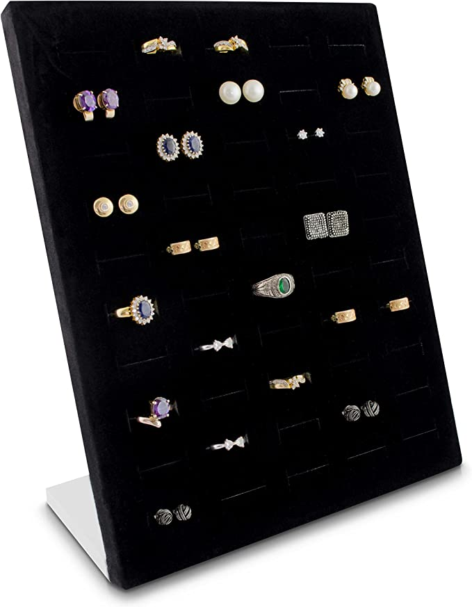 Stabilen 4er Schmuck Display Rack Ohrring Ringe Armband Lagerung Präsentation