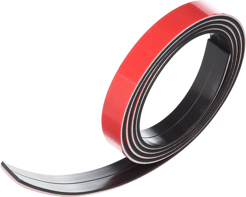 First4magnets F4MF19AB-1 Bande magn/étique avec Premium auto adh/ésive 19 x 1,5 mm x 1 m