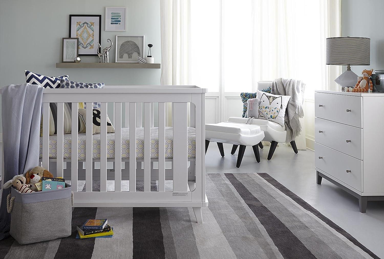 Safety 1st Peaceful Lullabies Baby Mattress White