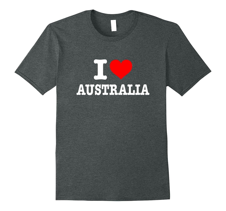 I Love Australia T-Shirt - I Heart Australia Shirt-PL