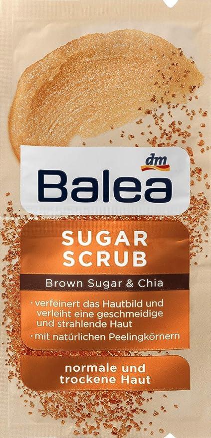 Balea - Azucarero para piel normal y seca (2 x 8 ml), color marrón ...