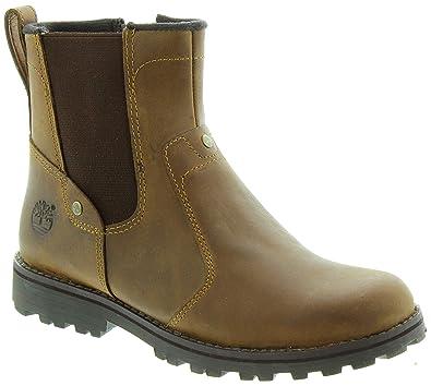 Timberland Kinder 1371R Asphalt Trail Chelsea Boots in Braun