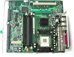 Dell Genuine XF826 P4 Motherboard for Optiplex GX270 Small Desktop (SDT) Systems Compatible Part Numbers: R2472, J2865, U1324, DG279, H1105, H1489, FG011, CG566, R0786, N6780