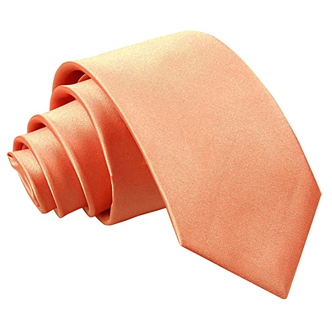 SSS(dqt) - Corbata - para hombre Rosa coral Talla única: Amazon.es ...