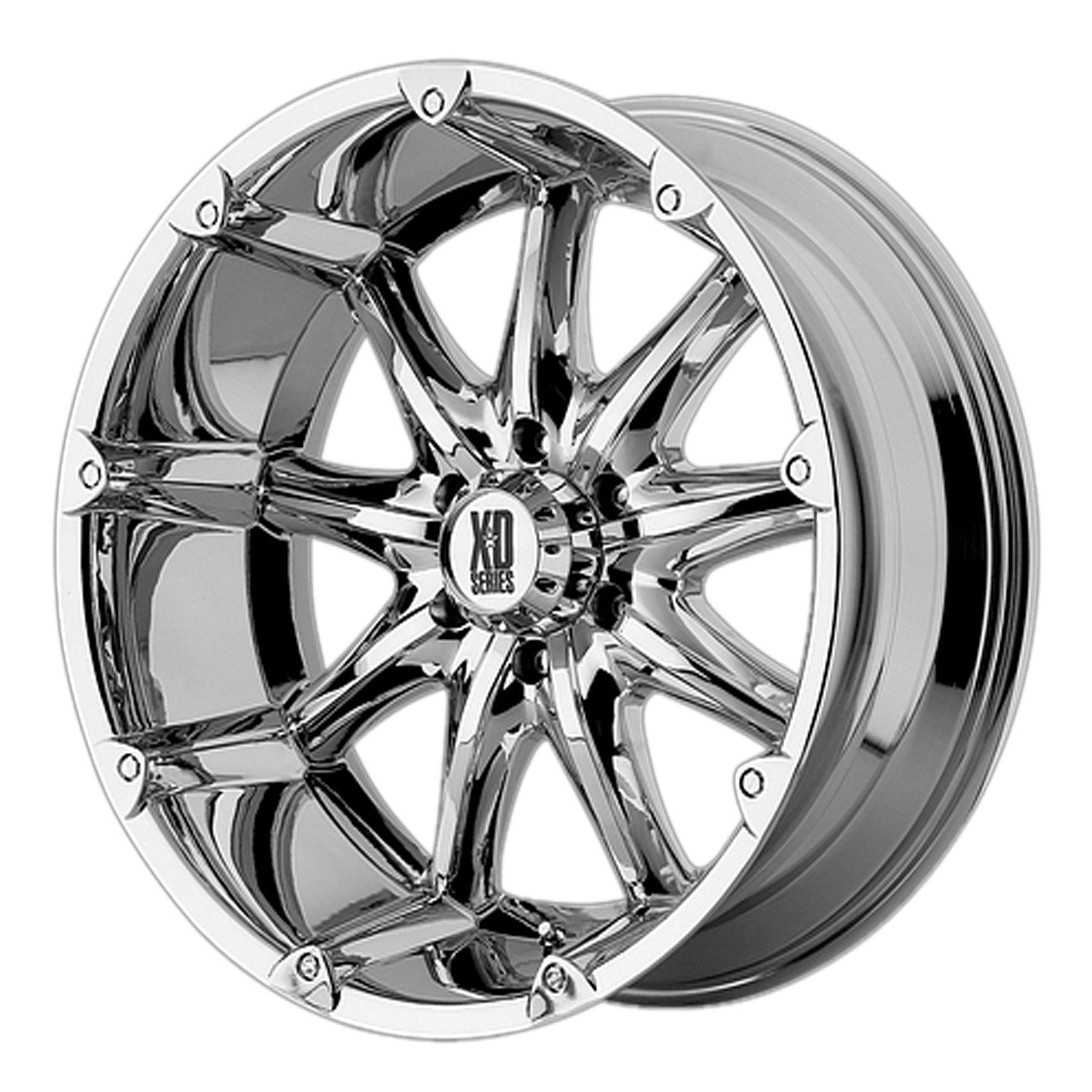 XD Series by KMC Wheels XD779 Badlands Chrome Wheel (18x9''/8x170mm, +18mm offset)