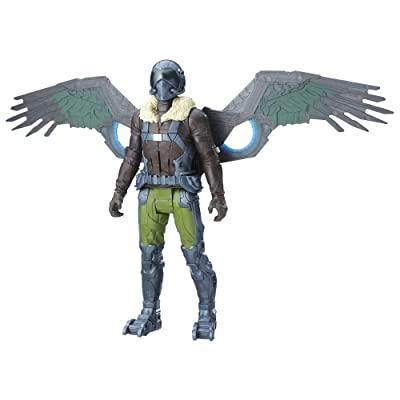 Marvel Spider-Man: Homecoming Electronic Vulture, 12-inch: Toys & Games