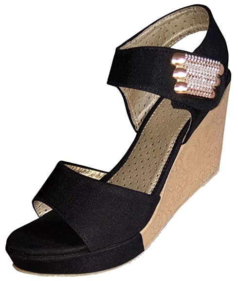 Black Wedges Heel\u0026 Best Quality