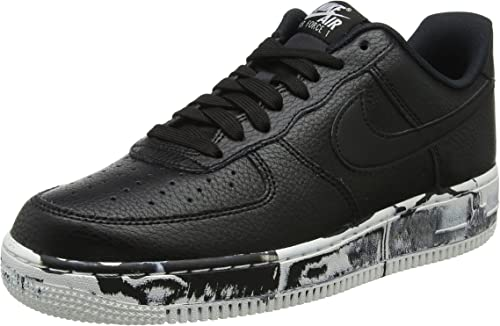 Nike Mens Air Force 1 Low LV8 Marble Basketball Shoes