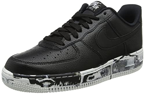 sale retailer 9f90a 898f7 Nike Air Force 1 Low LV8 - Zapatillas de Baloncesto para Hombre, Negro, 7.5