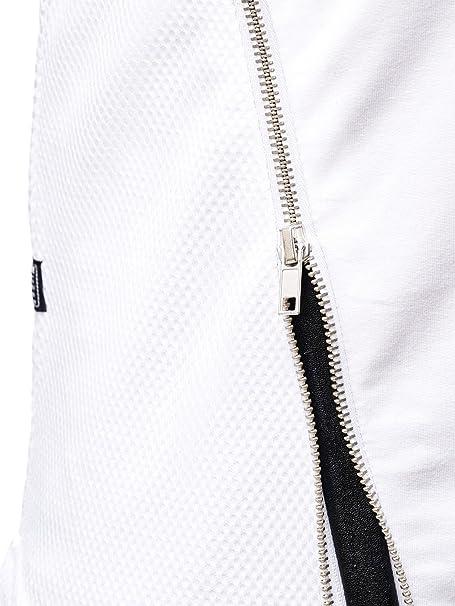 Red Bridge Herren Sweatshirt Oversize Longsleeve Asymetric Zipper Stretch  Pullover  Amazon.de  Bekleidung e62ca228f4