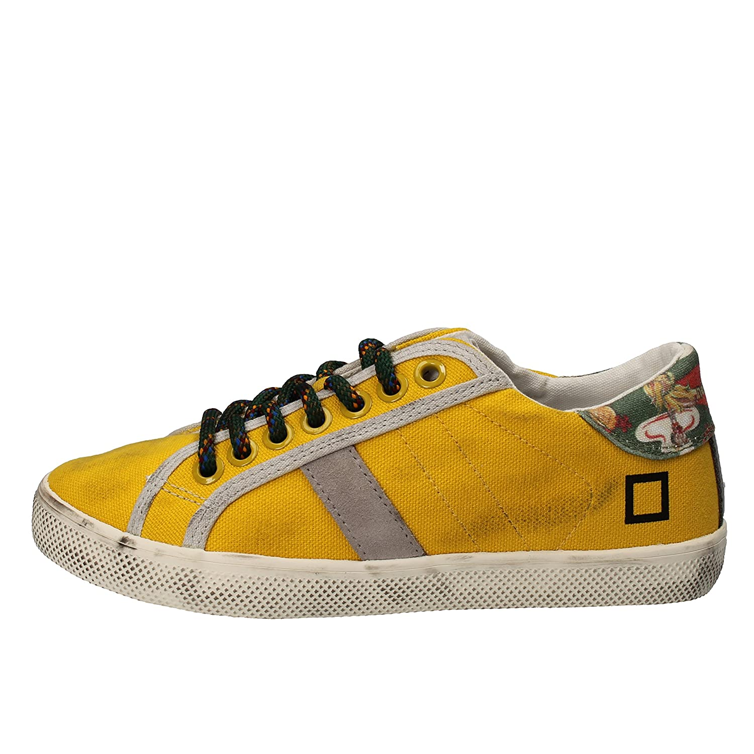 DATE D.A.T.E. Fashion-Sneakers Baby-Girls Yellow