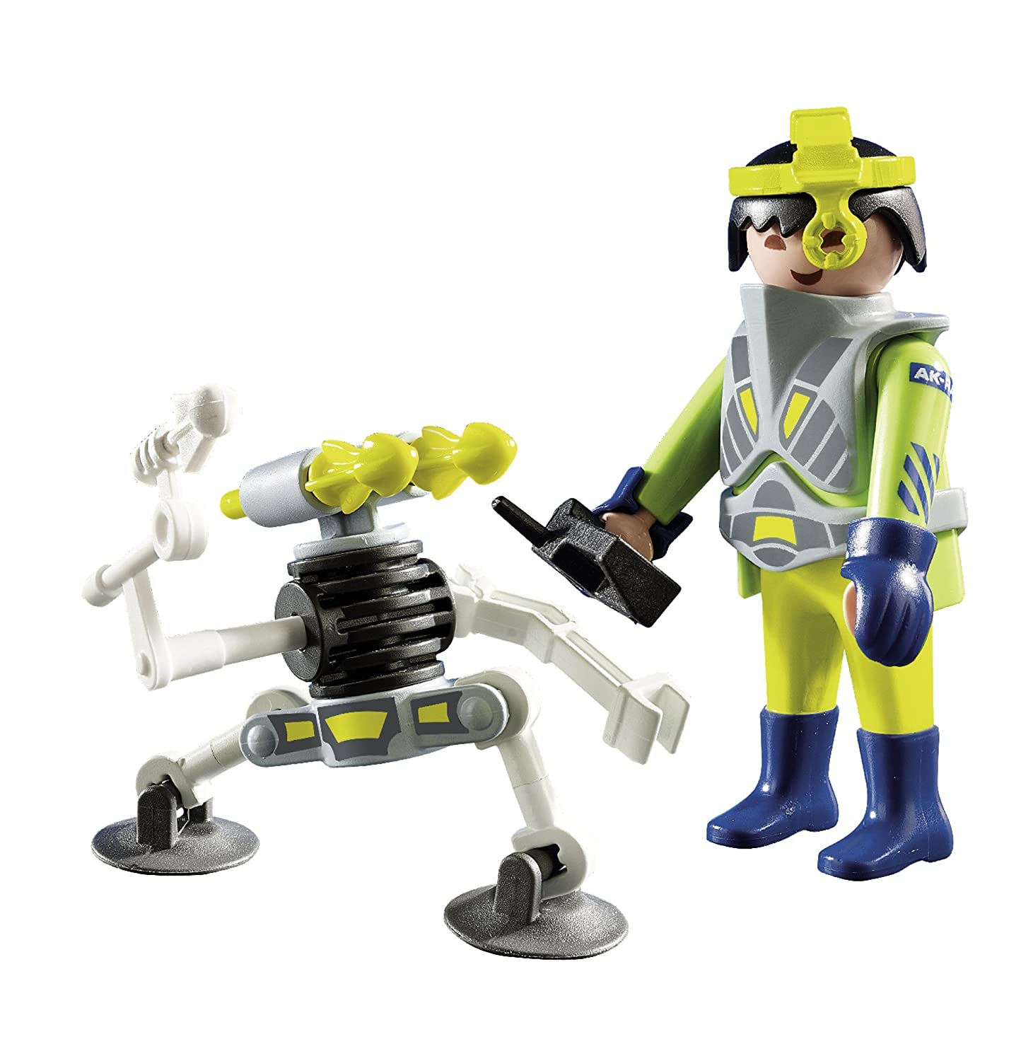PLAYMOBIL 9416 Space agent with robot NEW 2018
