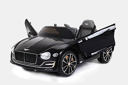 Ruote in Eva morbide Porte di Apertura RIRICAR Audi TT RS Macchina Elettrica per Bambini 2X Motore Originale Licenza Batteria da 12 V Bianco Batteria Telecomando da 2,4 GHz Sedile in Pelle