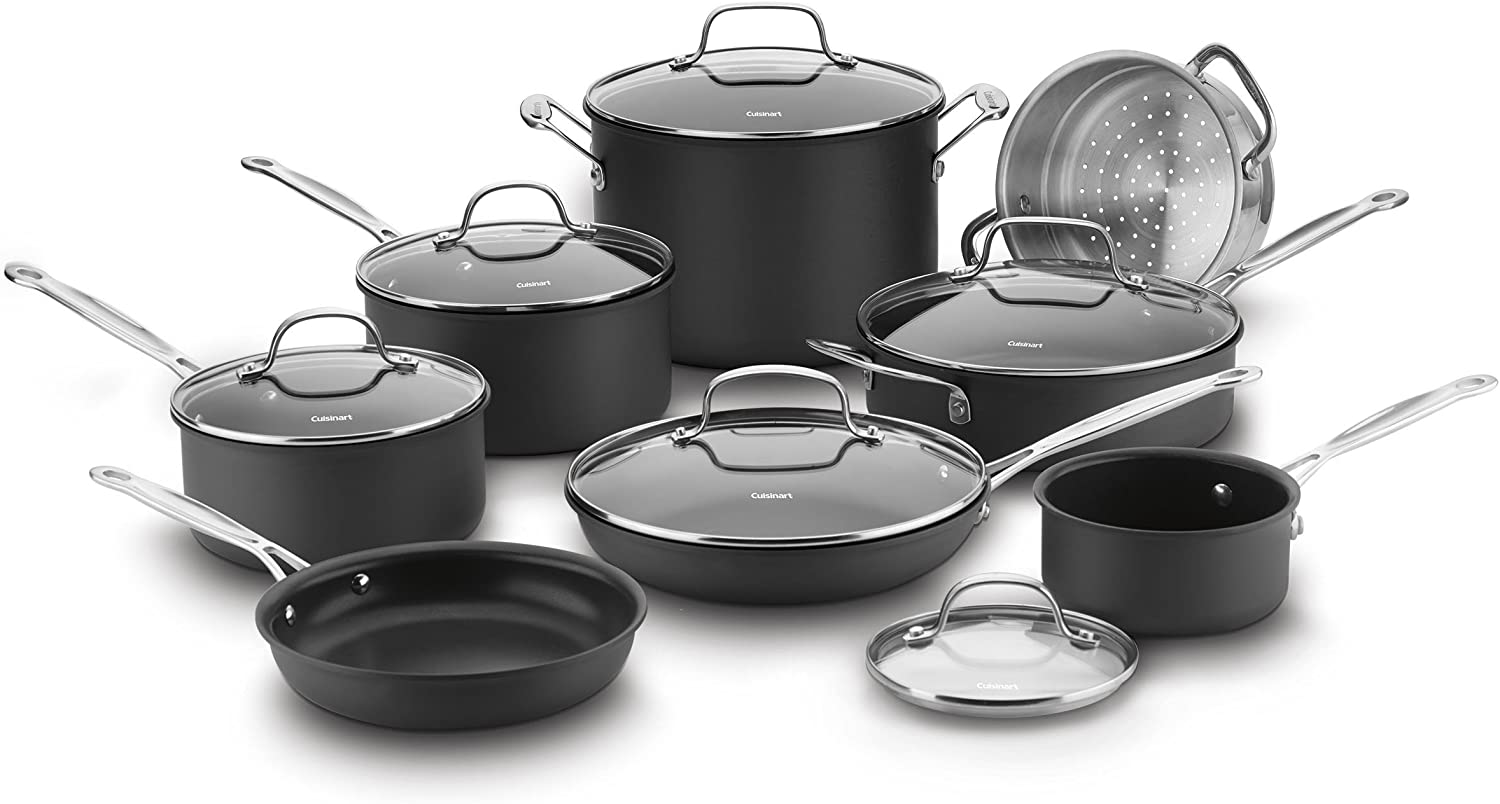Best stainless steel cookware reviews. Cuisinart Chef's Classic Stainless Steel Cookware Set