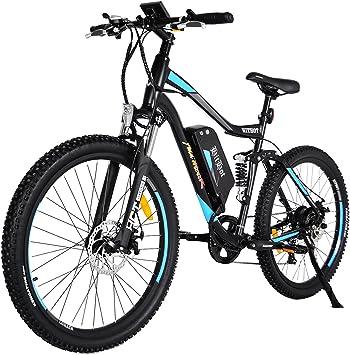 Addmotor HITHOT Bicicleta Eléctrica de Montaña 48V 500W Potencia ...