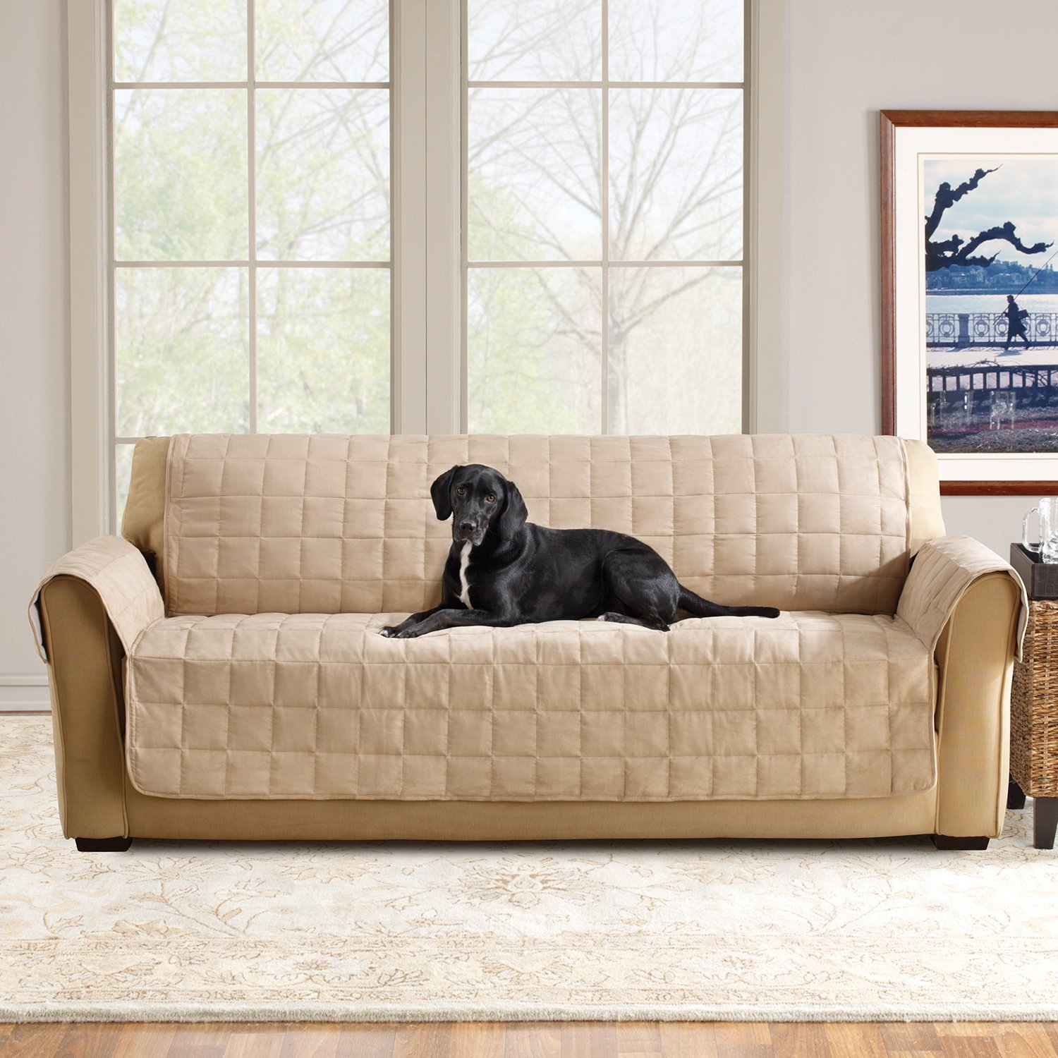 Amazon Sure Fit Ultimate Waterproof Quilted Throw Sofa
