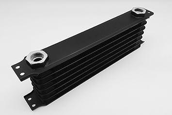 Autobahn88 El aceite universal/Automatic Transmission Fluid ATF Cooler, de 7 filas, compacto