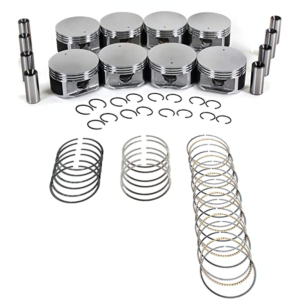 Engine Pistons Bearings Rings Set 99-07 4.7L Dodge Durango Dakota Chrysler Jeep