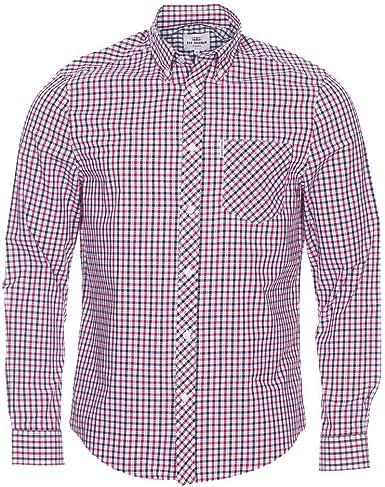 Ben Sherman House Check Camisa Casual, Azul (Whitby 6444), XX-Large para Hombre: Amazon.es: Ropa y accesorios
