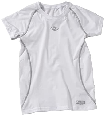 Lotto Sport - Ropa interior infantil, tamaño M, color blanco