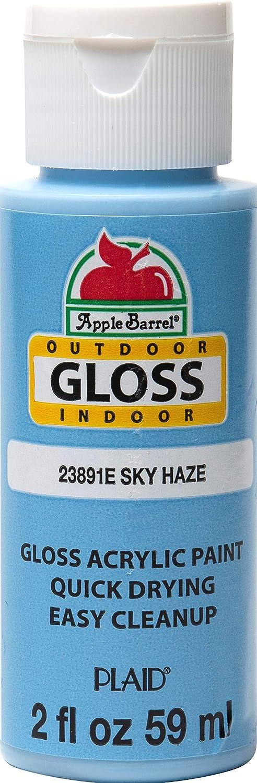 Apple Barrel Gloss Acrylic Craft Paint, 2 oz, Sky Haze