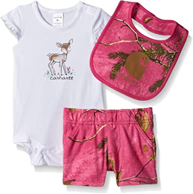 Carhartt Baby Girls Realtree Xtra Short