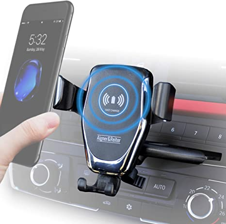 Handyhalterung Auto Mit Ladefunktion Für Den Cd Schlitz Elektronik
