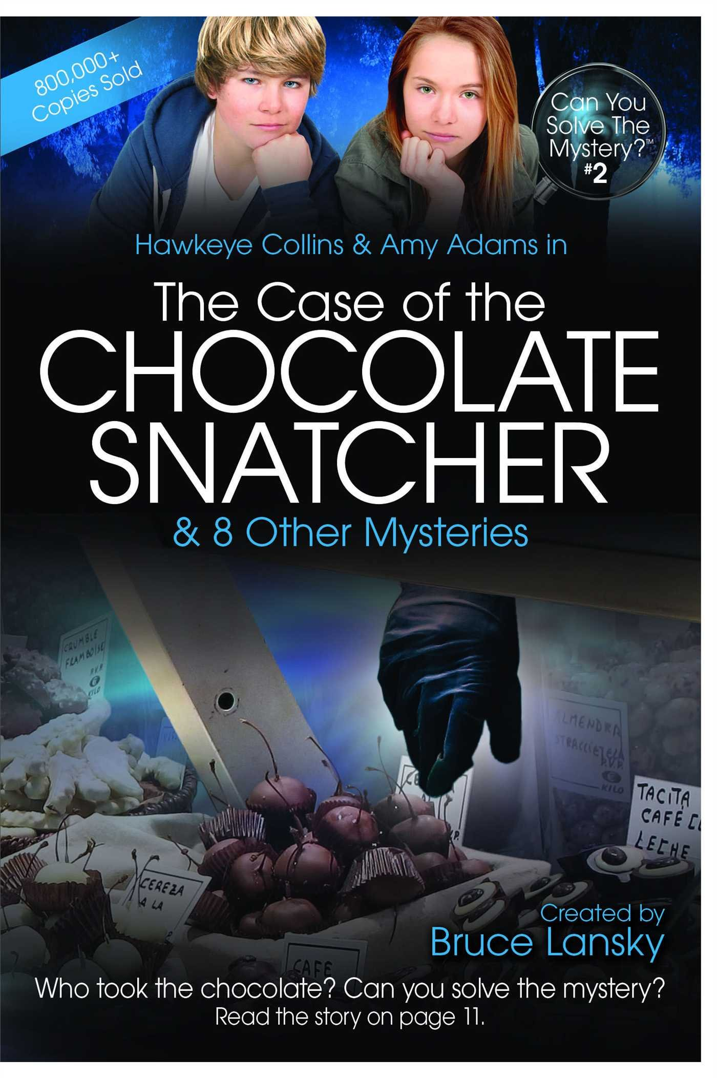 Read Online The Case of the Chocolate Snatcher: Can You Solve the Mystery #2 pdf